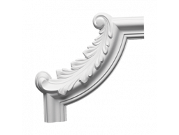 Полиуретановый декор Европласт угловой элемент 1.52.291