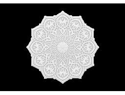 Полиуретановый декор Европласт розетка потолочная  1.56.502