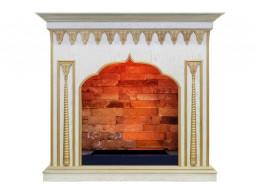 Dimplex портал Abu-Dabi - Белый дуб, патина золото