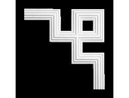 Полиуретановый декор Европласт угловой элемент 1.52.287