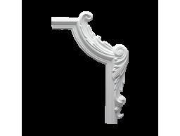 Полиуретановый декор Европласт угловой элемент 1.52.293