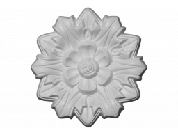 Полиуретановый декор Европласт розетка потолочная  1.56.011