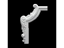 Полиуретановый декор Европласт угловой элемент 1.52.290