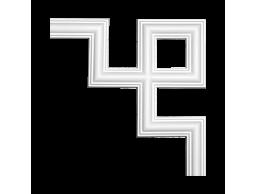Полиуретановый декор Европласт угловой элемент 1.52.286