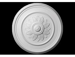 Полиуретановый декор Европласт розетка потолочная  1.56.012