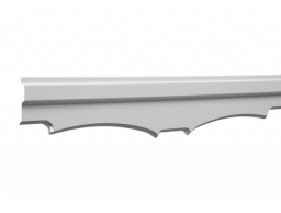 Полиуретановый декор Европласт потолочный карниз 1.50.265
