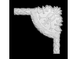 Полиуретановый декор Европласт угловой элемент 1.52.352