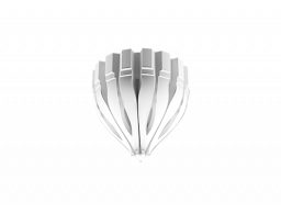 Полиуретановый декор Европласт розетка потолочная  1.56.511