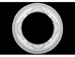 Полиуретановый декор Европласт розетка потолочная  1.56.052