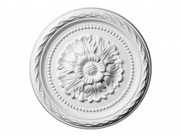 Полиуретановый декор Европласт розетка потолочная  1.56.009