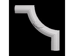 Полиуретановый декор Европласт угловой элемент 1.52.361
