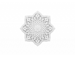 Полиуретановый декор Европласт розетка потолочная  1.56.501