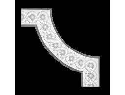 Полиуретановый декор Европласт угловой элемент 1.52.376