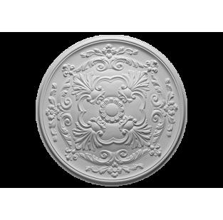 Полиуретановый декор Европласт розетка потолочная  1.56.024