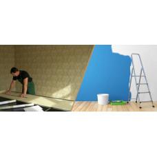 Отделка стен: обои или краска?